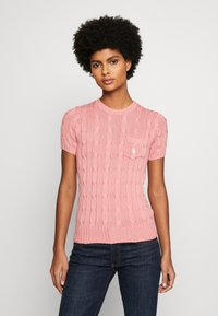 Polo Ralph Lauren - TEE SHORT SLEEVE  - T-shirt basic - cottage rose - 0