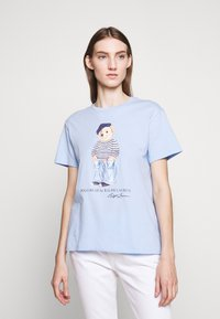 Polo Ralph Lauren - SHORT SLEEVE - T-shirts med print - elite blue - 0