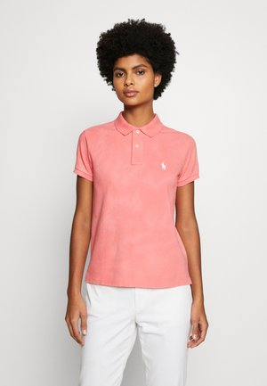 FRAY SHORT SLEEVE - Poloskjorter - amalfi red