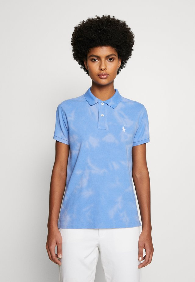 FRAY SHORT SLEEVE - Polo - harbor island blu