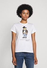 Polo Ralph Lauren - SHORT SLEEVE - T-shirt imprimé - nevis - 2