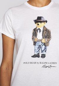 Polo Ralph Lauren - SHORT SLEEVE - T-shirt imprimé - nevis - 6