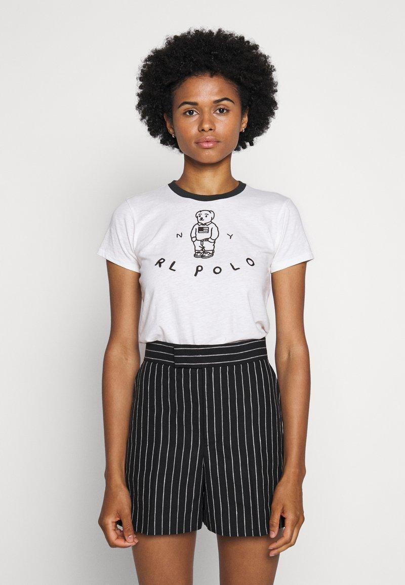 Polo Ralph Lauren - BEAR SHORT SLEEVE - Print T-shirt - nevis