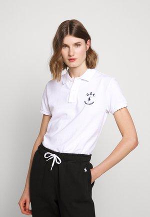 FLAG CLASSIC FIT - Poloshirt - white