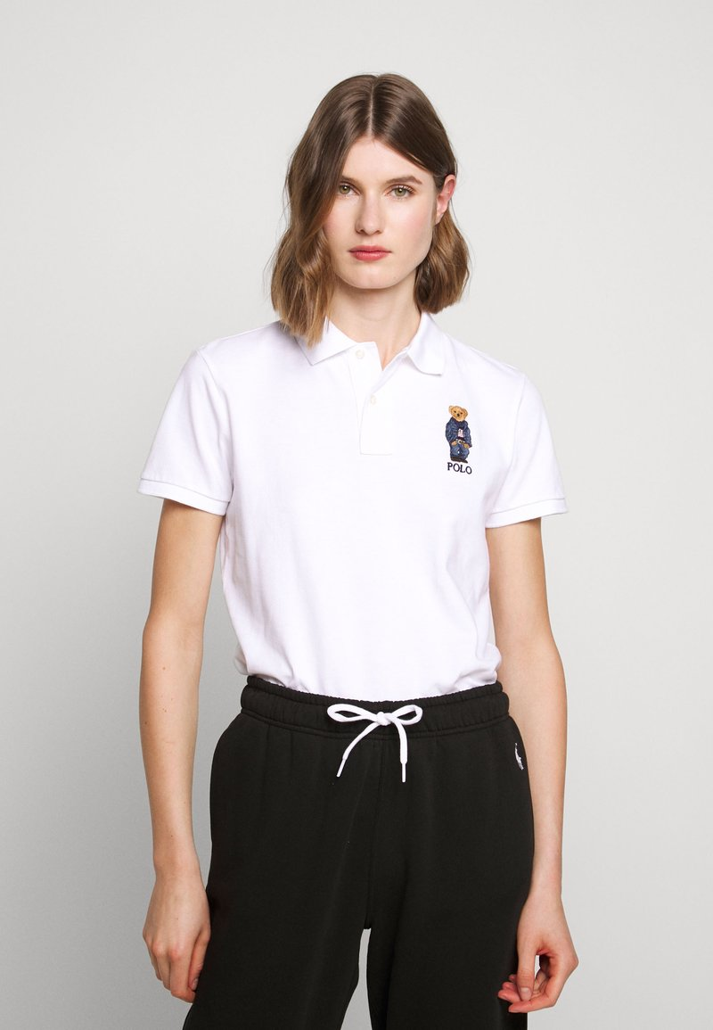 Polo Ralph Lauren - BEAR CLASSIC FIT - Poloshirt - navy/white