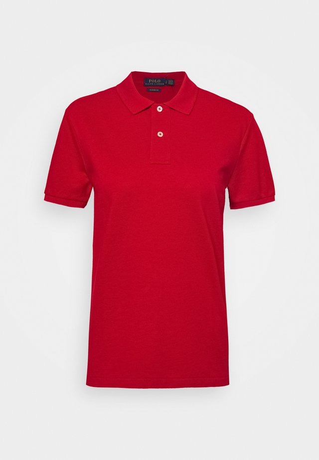 CLASSIC FIT SHORT SLEEVE - Poloshirt - red
