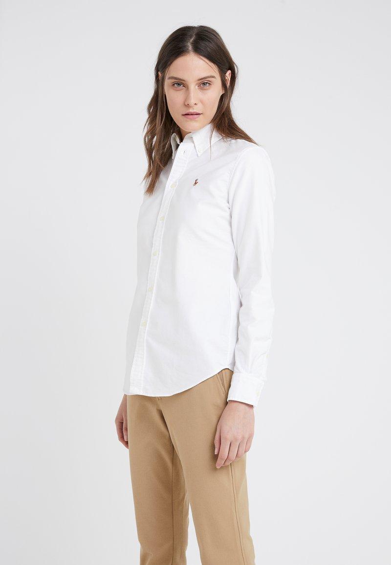 Polo Ralph Lauren - HARPER CUSTOM FIT - Button-down blouse - white