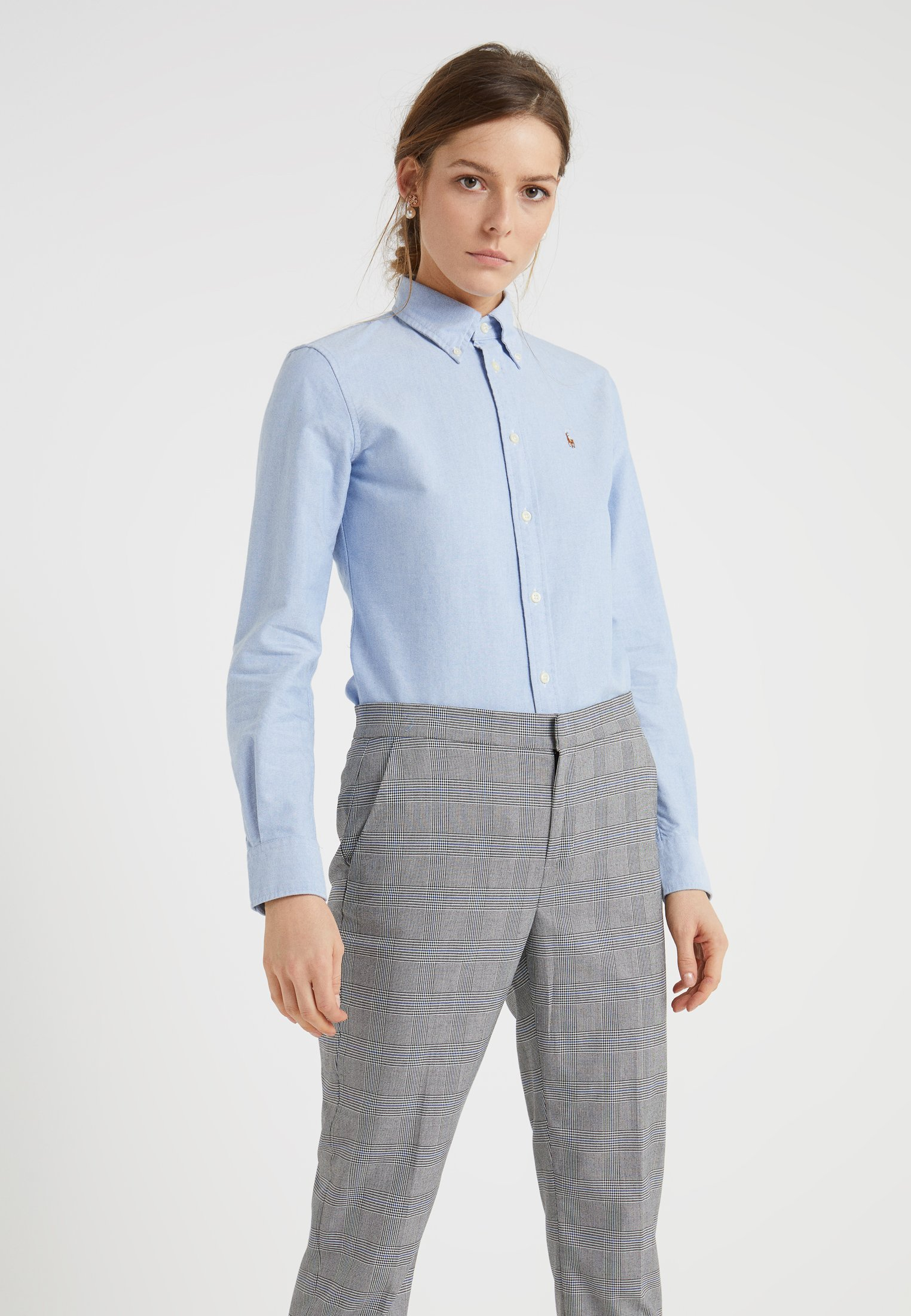 Polo Ralph Lauren HARPER CUSTOM FIT - Overhemdblouse - blue