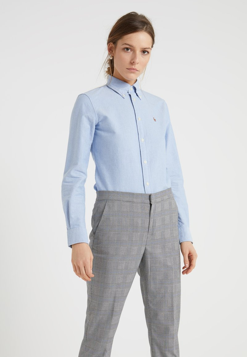 Polo Ralph Lauren - HARPER CUSTOM FIT - Button-down blouse - blue