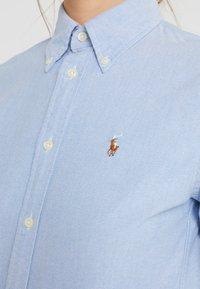 Polo Ralph Lauren - HARPER CUSTOM FIT - Button-down blouse - blue - 4
