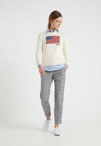 Polo Ralph Lauren - HARPER CUSTOM FIT - Button-down blouse - blue - 1
