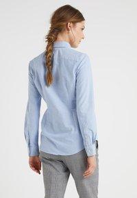 Polo Ralph Lauren - HARPER CUSTOM FIT - Button-down blouse - blue - 2