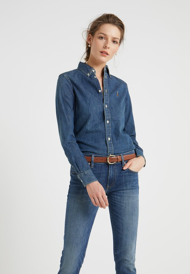HARPER - Button-down blouse - blaine wash