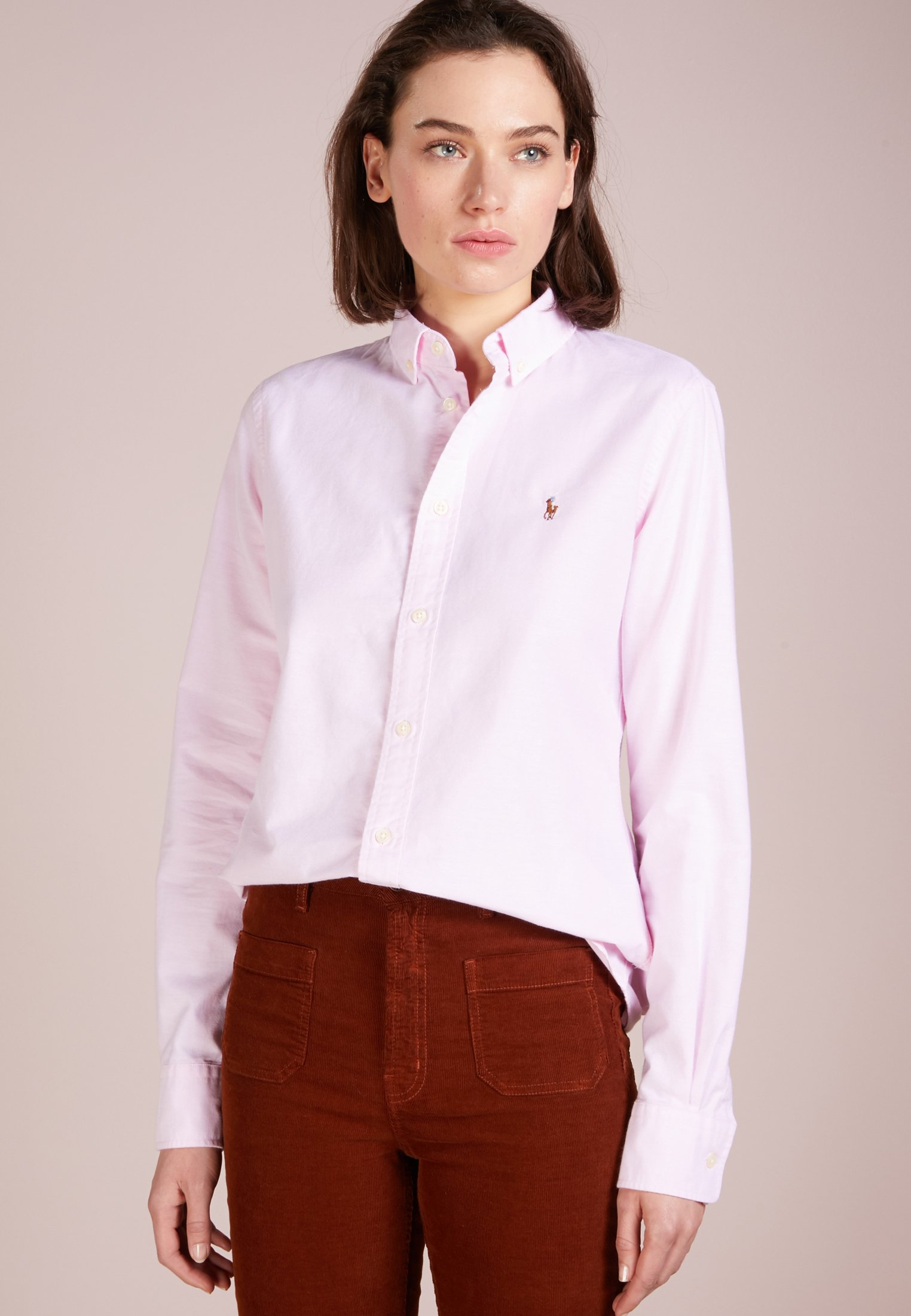 Polo Ralph Lauren OXFORD SLIM FIT - Koszula - deco pink