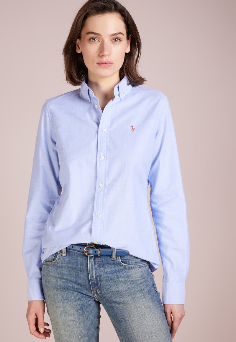 Polo Ralph Lauren - OXFORD SLIM FIT - Button-down blouse - blue hyacinth