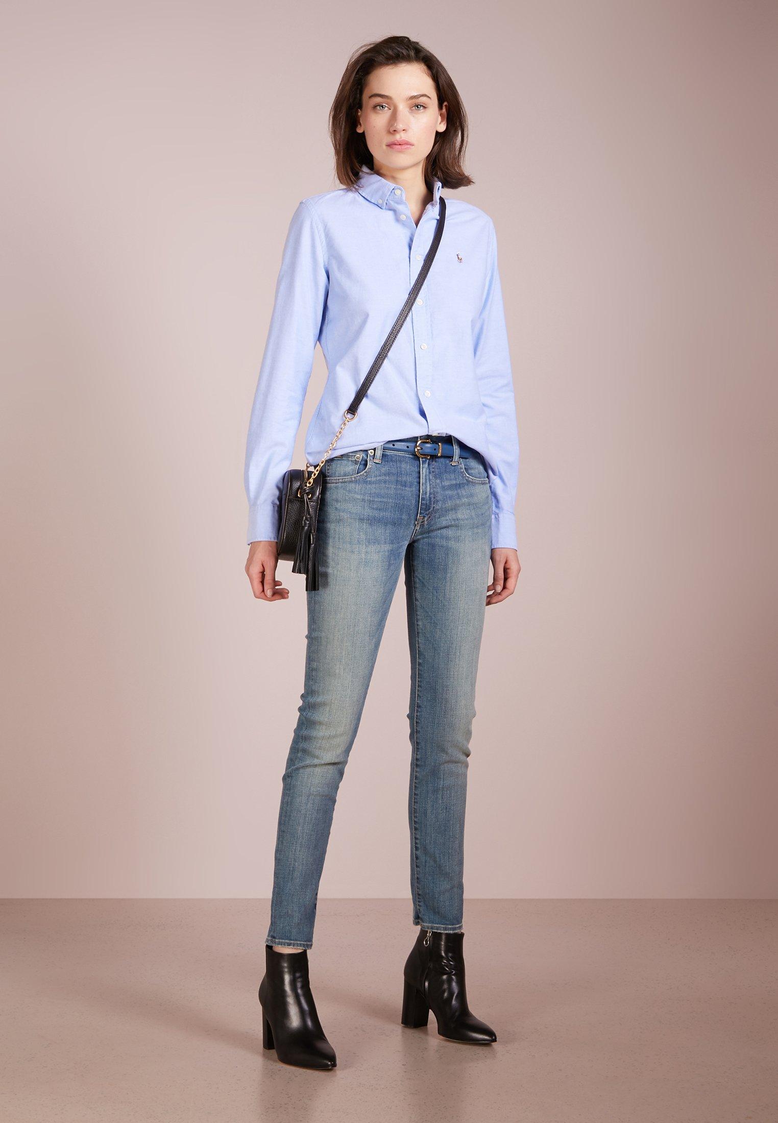 Polo Ralph Lauren Oxford Slim Fit - Camicia Blue Hyacinth IpF3K