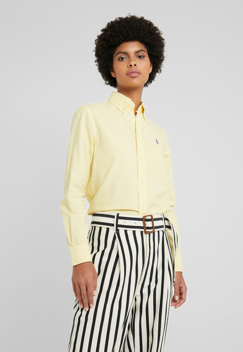 Polo Ralph Lauren - RELAXED FIT - Button-down blouse - banana peel