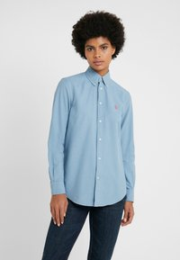 Polo Ralph Lauren - RELAXED FIT - Button-down blouse - cassidy blue - 0