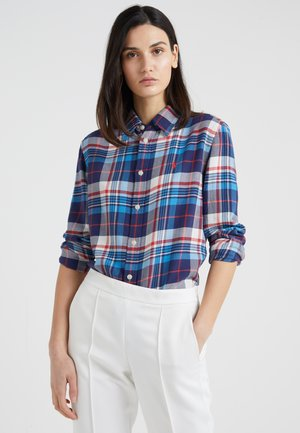 PLAID - Camisa - blue/red