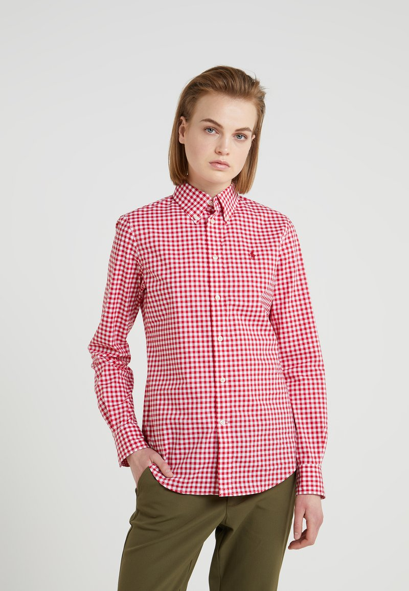 Polo Ralph Lauren - GINGHAM SLIM FIT - Camicia - red/white