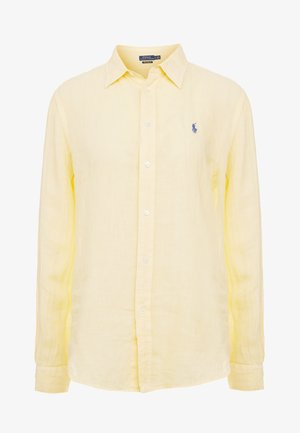 SOFT FADE - Button-down blouse - wicket yellow