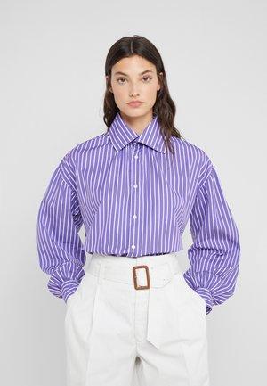 Bluzka - purple/white