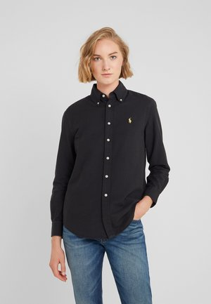 OXFORD RELAXED FIT - Skjortebluser - black