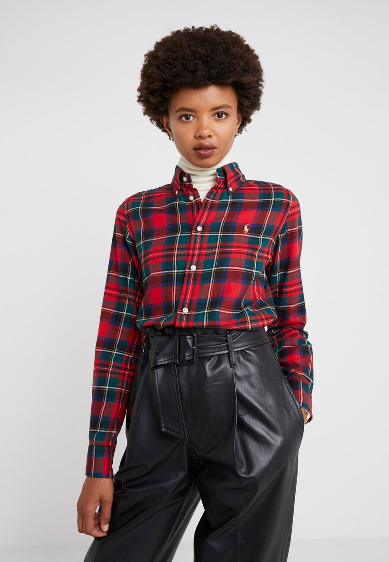 Polo Ralph Lauren - TWILL PLAID - Camicia - crimson red