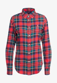 Polo Ralph Lauren - TWILL PLAID - Camicia - crimson red - 4