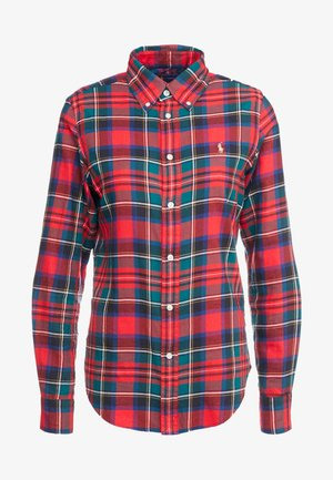 TWILL PLAID - Koszula - crimson red