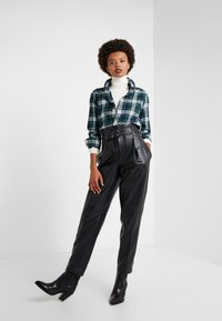 Polo Ralph Lauren - TWILL PLAID - Camisa -  hunter green - 1