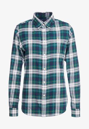 TWILL PLAID - Camisa -  hunter green