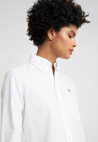 Polo Ralph Lauren - OXFORD KENDAL SLIM FIT - Button-down blouse - white - 3