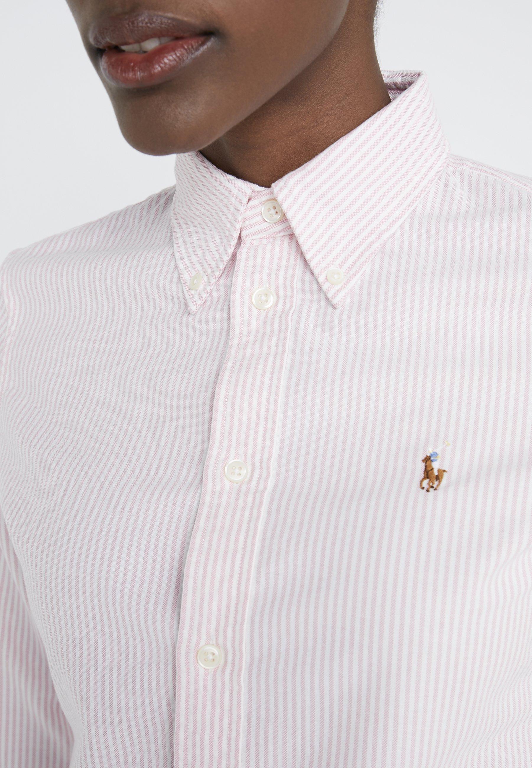 Polo Ralph Lauren Oxford Kendal Slim Fit - Camicia Pink/white g6GKhyX