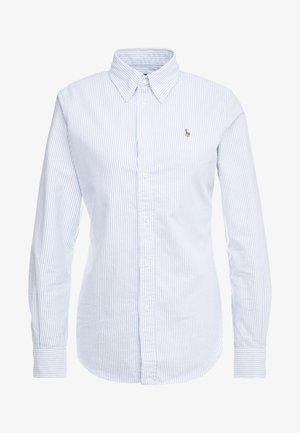 OXFORD KENDAL SLIM FIT - Camicia - blue/white