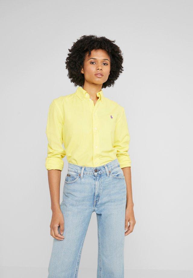 RELAXED LONG SLEEVE SHIRT - Skjorta - lemon crush