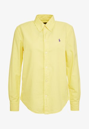 RELAXED LONG SLEEVE SHIRT - Overhemdblouse - lemon crush