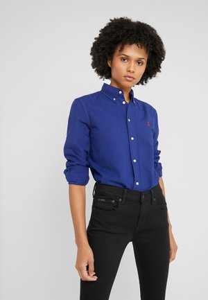 RELAXED LONG SLEEVE SHIRT - Košile - royal