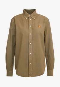 Polo Ralph Lauren - RELAXED LONG SLEEVE SHIRT - Button-down blouse - olive - 4