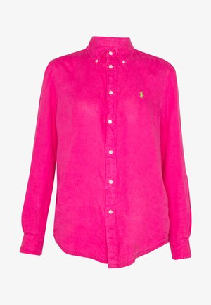 RELAXED LONG SLEEVE - Košile - accent pink