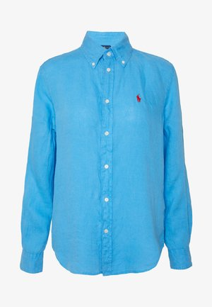 RELAXED LONG SLEEVE - Button-down blouse - scottsdale blue