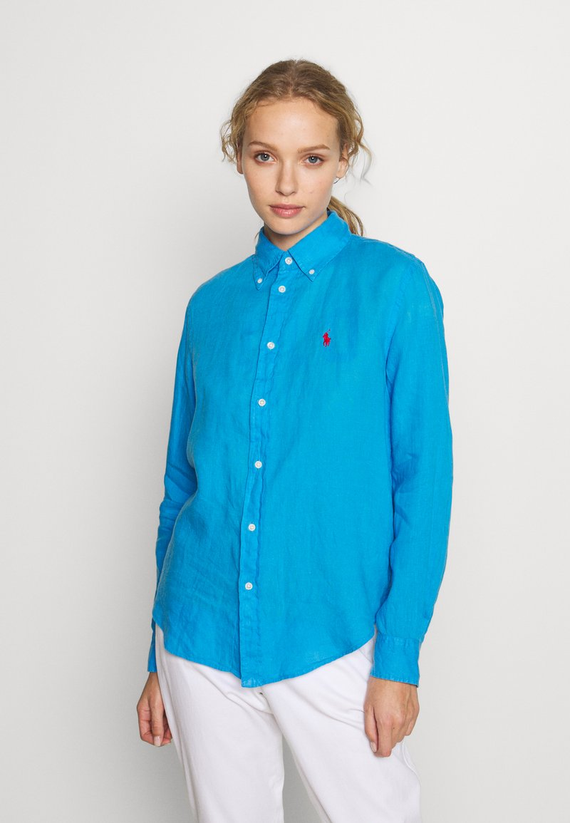 Polo Ralph Lauren - RELAXED LONG SLEEVE - Button-down blouse - scottsdale blue