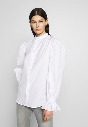 GRECHN LONG SLEEVE - Košile - white