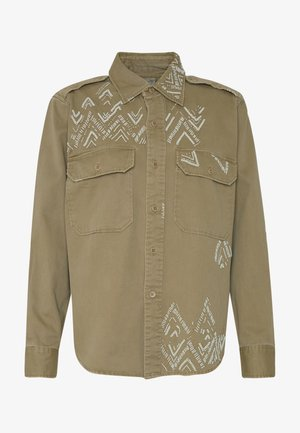 LONG SLEEVE - Camisa - desert tan