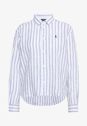 STRIPE - Koszula - white/royal blue