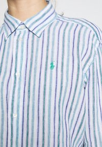 Polo Ralph Lauren - STRIPE - Košile - blue green - 5