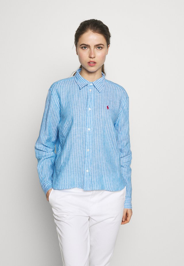 STRIPE - Camicia - blue