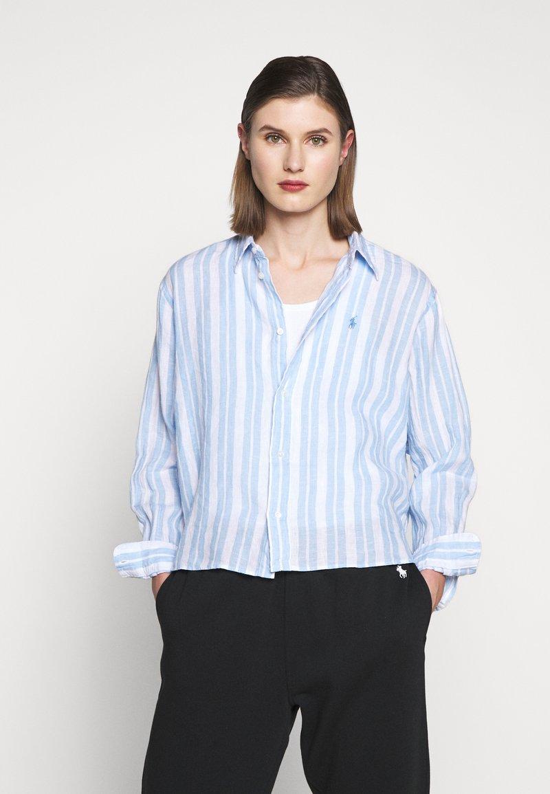 Polo Ralph Lauren - STRIPE - Button-down blouse - blue lagoon