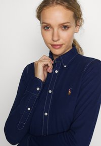 Polo Ralph Lauren - OXFORD - Button-down blouse - holiday navy - 3
