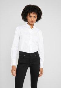 Polo Ralph Lauren - BRIA LONG SLEEVE - Button-down blouse - white - 0